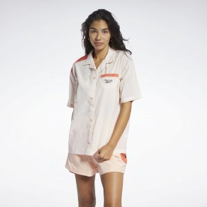 Рубашка Classics Reebok. Цвет: aura orange