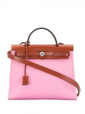 Сумка Her Bag 31 2015-го года Hermès. Цвет: розовый