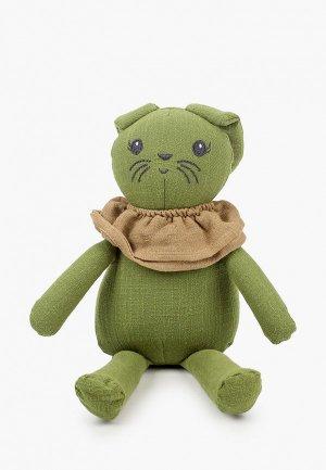Игрушка мягкая Elodie Зеленый Зайчик. Цвет: зеленый