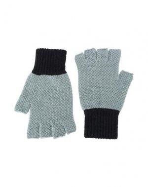 Перчатки JO GORDON. Цвет: светло-зеленый