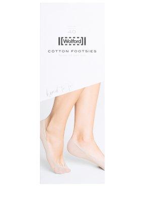 Подследники Cotton Footsies WOLFORD