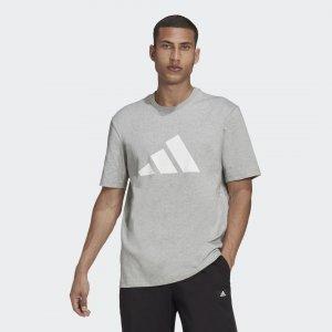 Футболка Sportswear Future Icons Logo Graphic adidas. Цвет: серый