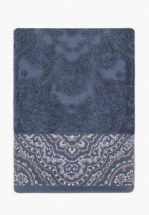 Полотенце Arya home collection Amonde 50x90. Цвет: синий