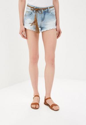 Шорты джинсовые Colcci. Цвет: голубой