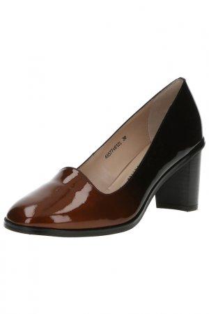 Туфли BALEX OFFICE STYLE. Цвет: черный, коричневый