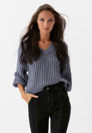 Пуловер Love Republic. Цвет: синий