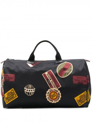 Большая дорожная сумка Boston Jean Paul Gaultier Pre-Owned. Цвет: черный