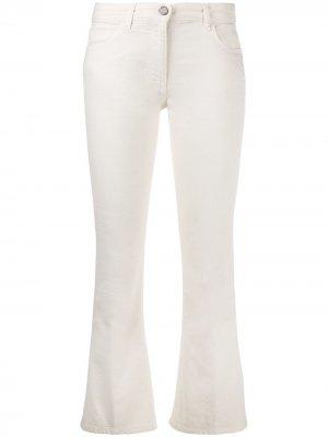 Укороченные расклешенные джинсы Seventy. Цвет: нейтральные цвета