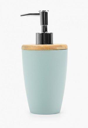 Дозатор для мыла Proffi Home Blue lagoon. Цвет: бирюзовый