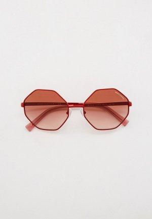 Очки солнцезащитные Armani Exchange AX2035S 610413. Цвет: красный