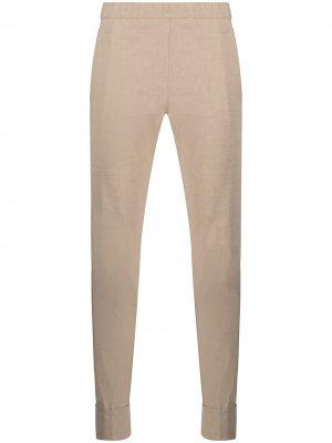 Узкие брюки с подворотами D.Exterior. Цвет: нейтральные цвета
