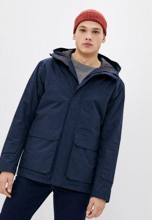 Куртка утепленная Helly Hansen UTILITY INSULATED RAIN JACKET. Цвет: синий