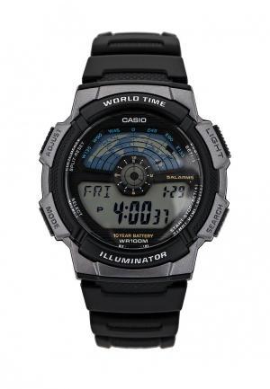 Часы Casio Collection AE-1100W-1A. Цвет: черный