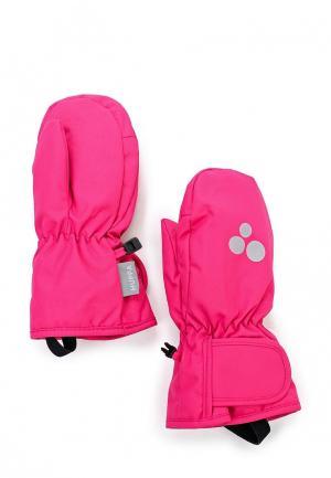 Варежки Huppa. Цвет: розовый