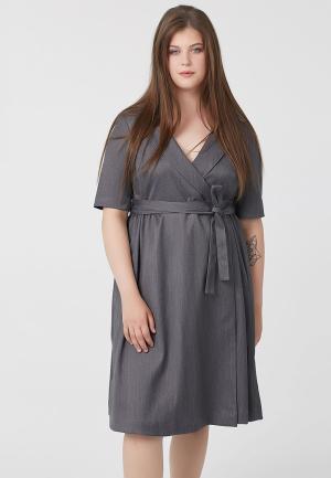 Платье Fly. Цвет: серый