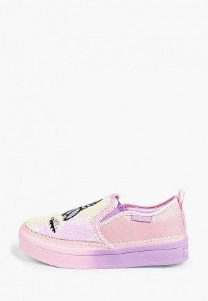 Слипоны Skechers TWI-LITES 2.0. Цвет: розовый
