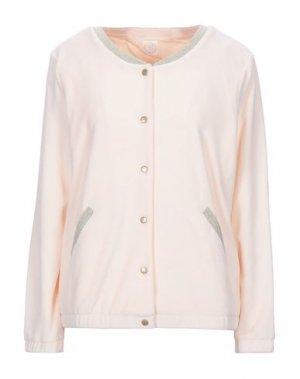 Куртка DES PETITS HAUTS. Цвет: светло-розовый