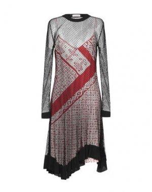 Платье до колена ALTUZARRA. Цвет: черный
