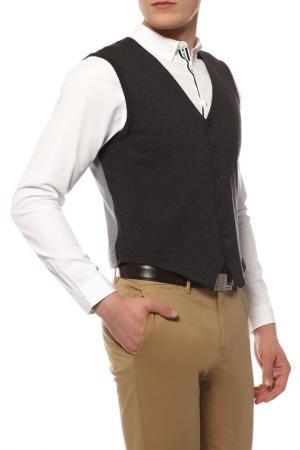 Жилет Dirk Bikkembergs Sport Couture. Цвет: серый