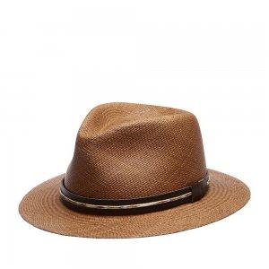 Шляпа федора BAILEY. Цвет: коричневый