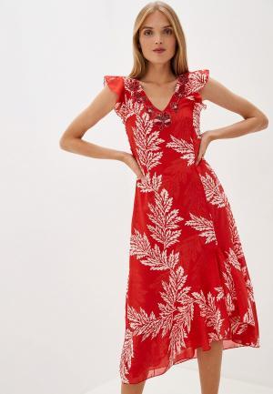 Платье Camomilla Italia. Цвет: красный