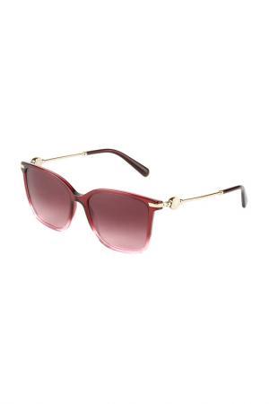 Очки солнцезащитные Bvlgari. Цвет: violet gradient pink