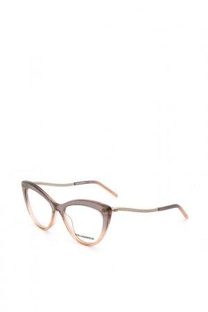 Оправы корригирующих очков Karl Lagerfeld. Цвет: 154 фиолетовый, розовый