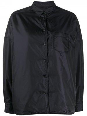 Бомбер с нагрудным карманом Aspesi. Цвет: черный