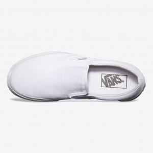 Кеды Classic Slip-On VANS. Цвет: белый