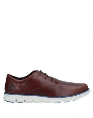Обувь на шнурках TIMBERLAND. Цвет: желто-коричневый