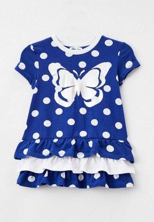 Платье Juno. Цвет: синий
