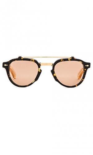 Солнцезащитные очки cherokee Jacques Marie Mage. Цвет: коричневый
