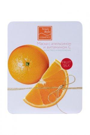Маска с апельсином Beauty Style. Цвет: белый