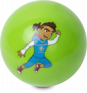 Мяч футбольный сувернирный EURO 2020 UEFA. Цвет: зеленый