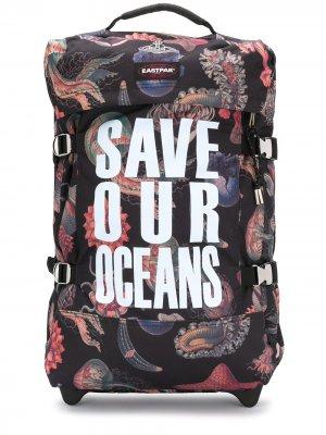 Портфель Save Our Oceans Eastpak. Цвет: черный
