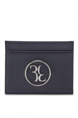 Синий кожаный держатель для кредитных карт Billionaire. Цвет: синий