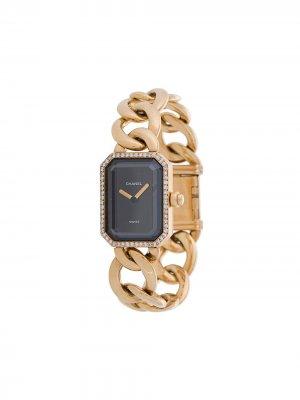 Наручные часы pre-owned Chanel. Цвет: золотистый