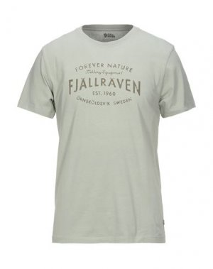 Футболка FJALLRAVEN. Цвет: зеленый-милитари