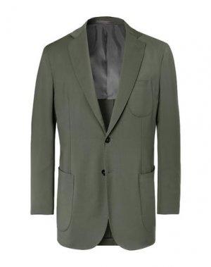 Пиджак P.JOHNSON. Цвет: зеленый-милитари
