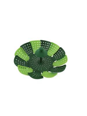Пароварка складная Fackelmann. Цвет: зеленый