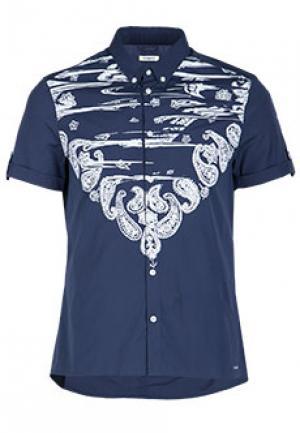 Рубашка ICEBERG. Цвет: голубой