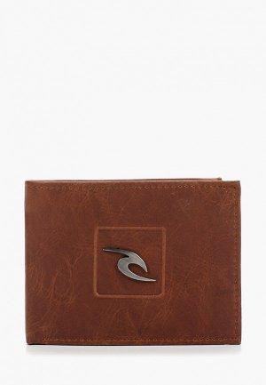 Кошелек Rip Curl RIDER RFID ALL DAY. Цвет: коричневый
