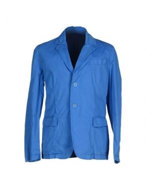 Пиджак ADD. Цвет: лазурный