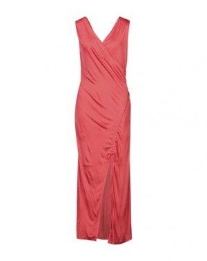 Длинное платье EACH X OTHER. Цвет: красный