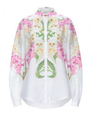 Pубашка CLOVER CANYON. Цвет: белый