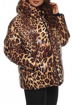Куртка NIPAL. Цвет: леопардовый