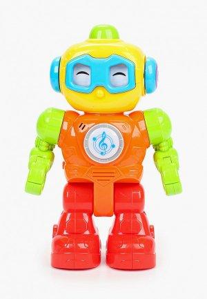 Игрушка интерактивная Умка Робот с функцией модуляции голоса, h 23 см. Цвет: разноцветный