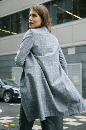 Пальто прямого кроя EMKA