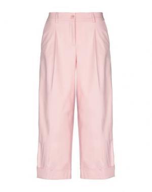 Брюки-капри P.A.R.O.S.H.. Цвет: розовый