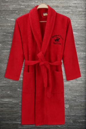 Халат Beverly Hills Polo Club. Цвет: красный